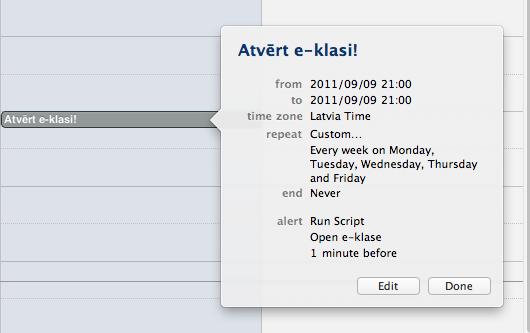 iCal Open AppleScript