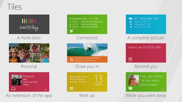 Windows 8 - Live Tiles
