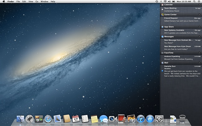 Mountain Lion - Notifications